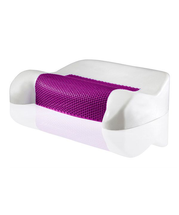 Look at this Purple Contour Hydraluxe Gel Pillow on #zulily today!