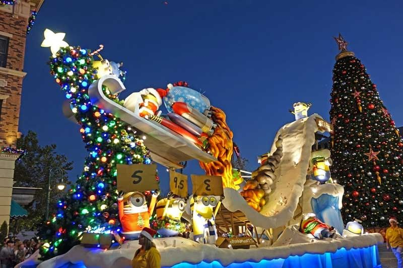 Christmas At Universal Studios Orlando.Guide To Universal Orlando Holidays Christmas In The