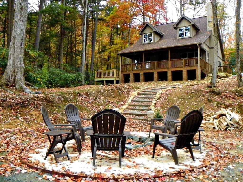 cabins in cabin vacation river rentals nc elk mtn banner