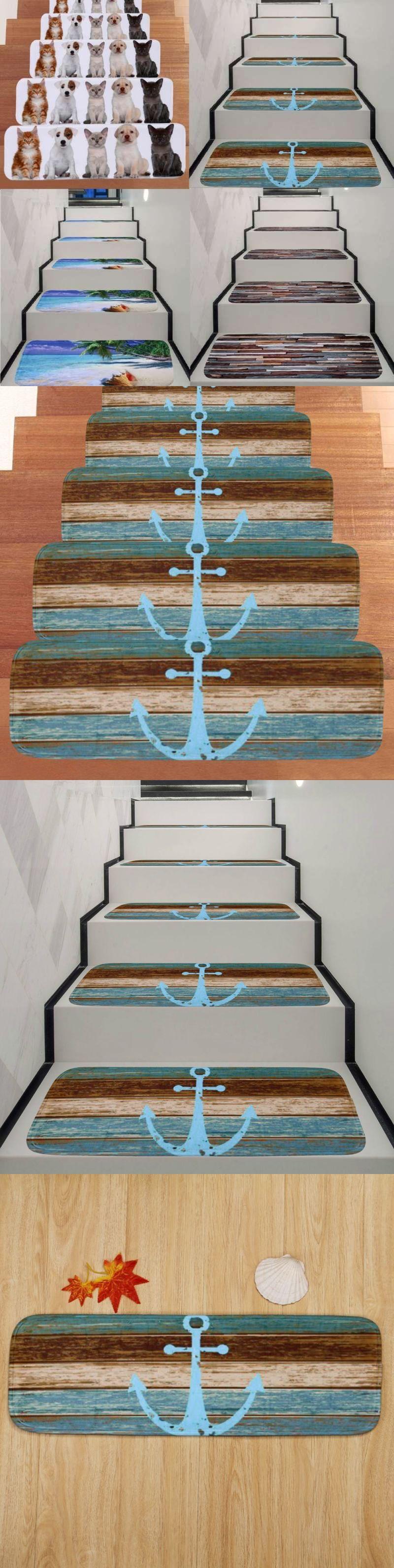 Best Stair Treads 175517 5Pcs Set Carpet Stair Tread Mats Step 640 x 480