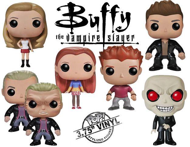 Bonecos Funko Pop Buffy A Caca Vampiros Blog De Brinquedo Buffy Buffy The Vampire Slayer Vinyl Figures
