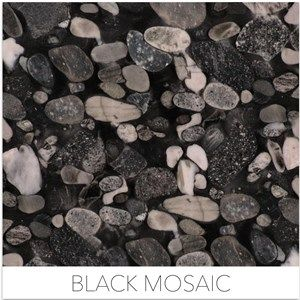 Black Granites Black Mosaic Now In Stock At Dwyer Marble And Stone Granite Black Mosaic Exterior Wall Cladding