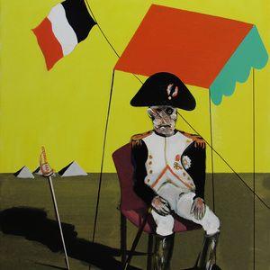 Estudio para Napoleón en Egipto