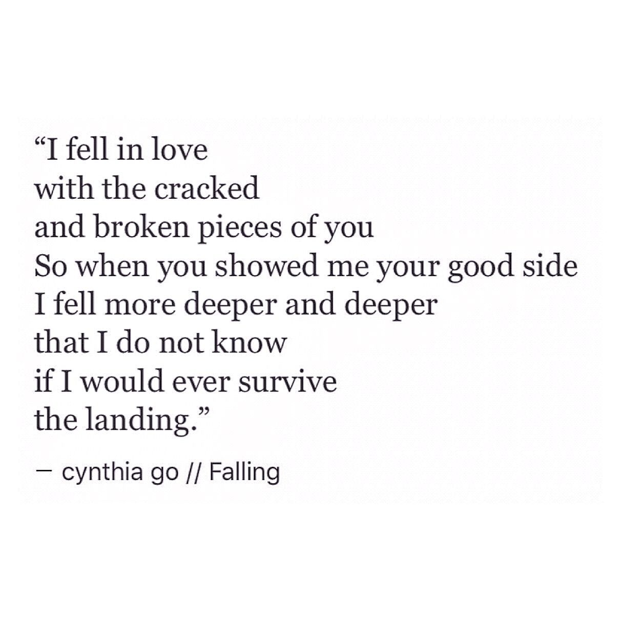 Falling Falling In Love QuotesIm
