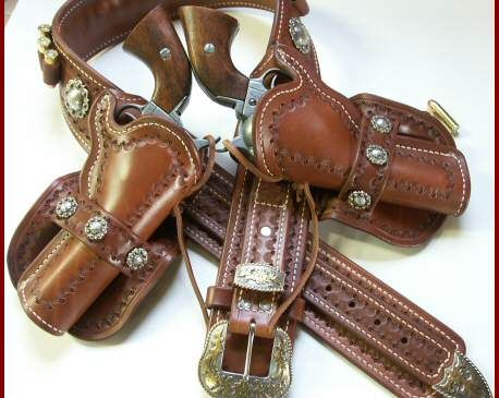 IThe General Double - Authentic Mexican Loop Holsters