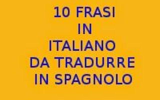 Prima Pagina Lingua Italiana Lingua Spagnola E Spagnolo