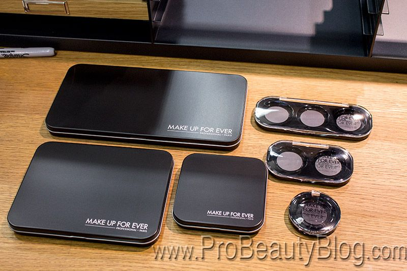 First Look Make Up For Evers 200 New Artist Shadow Eyeshadows And Empty Magnetic Palettes