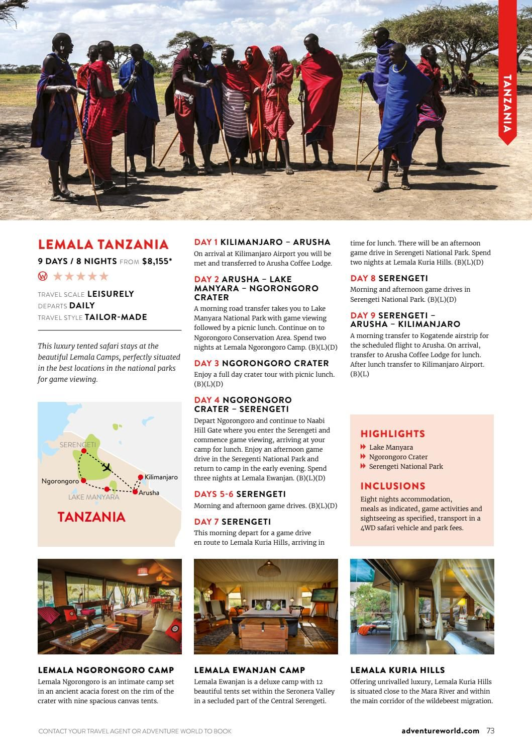 Africa, Egypt & Middle East 2017/18 Collection NZ by Adventure World - issuu