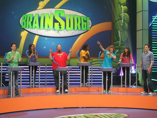 Nickelodeon Brain Surge TV game show | The 90s are All That