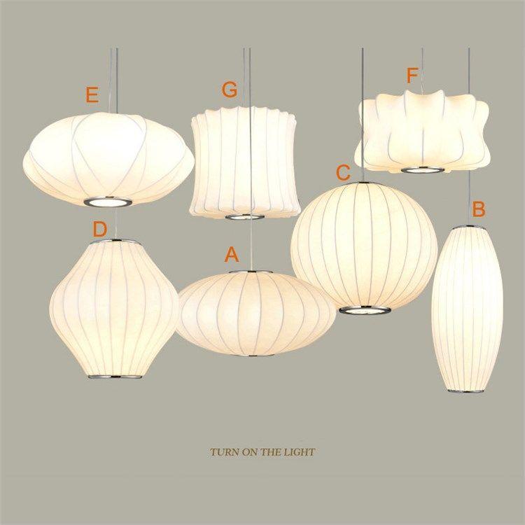 ペンダントライト 照明器具 天井照明 店舗照明 リビング照明 シルク製