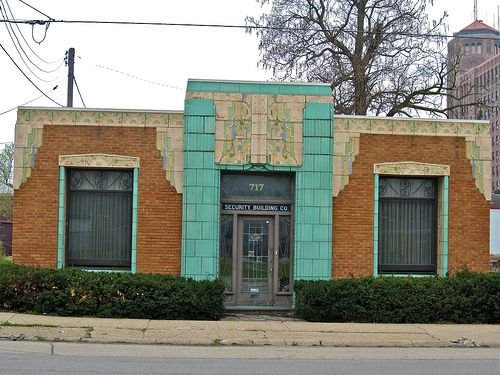 dfb7aa6003 Security Building Co., Rockford, IL My favorite little art deco building.  Fantastic terra-cotta. The first time I saw this building, I drove right on  the ...