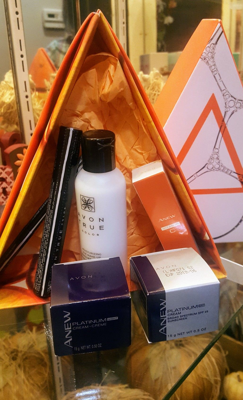 The Avon A Box is a great way to sample different products