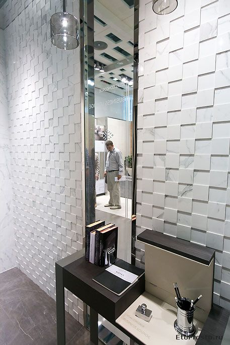 Cersaie 2012 Tile Novelties Three Dimensional Tile With Images Dimensional Tile Tiles Textured Wall