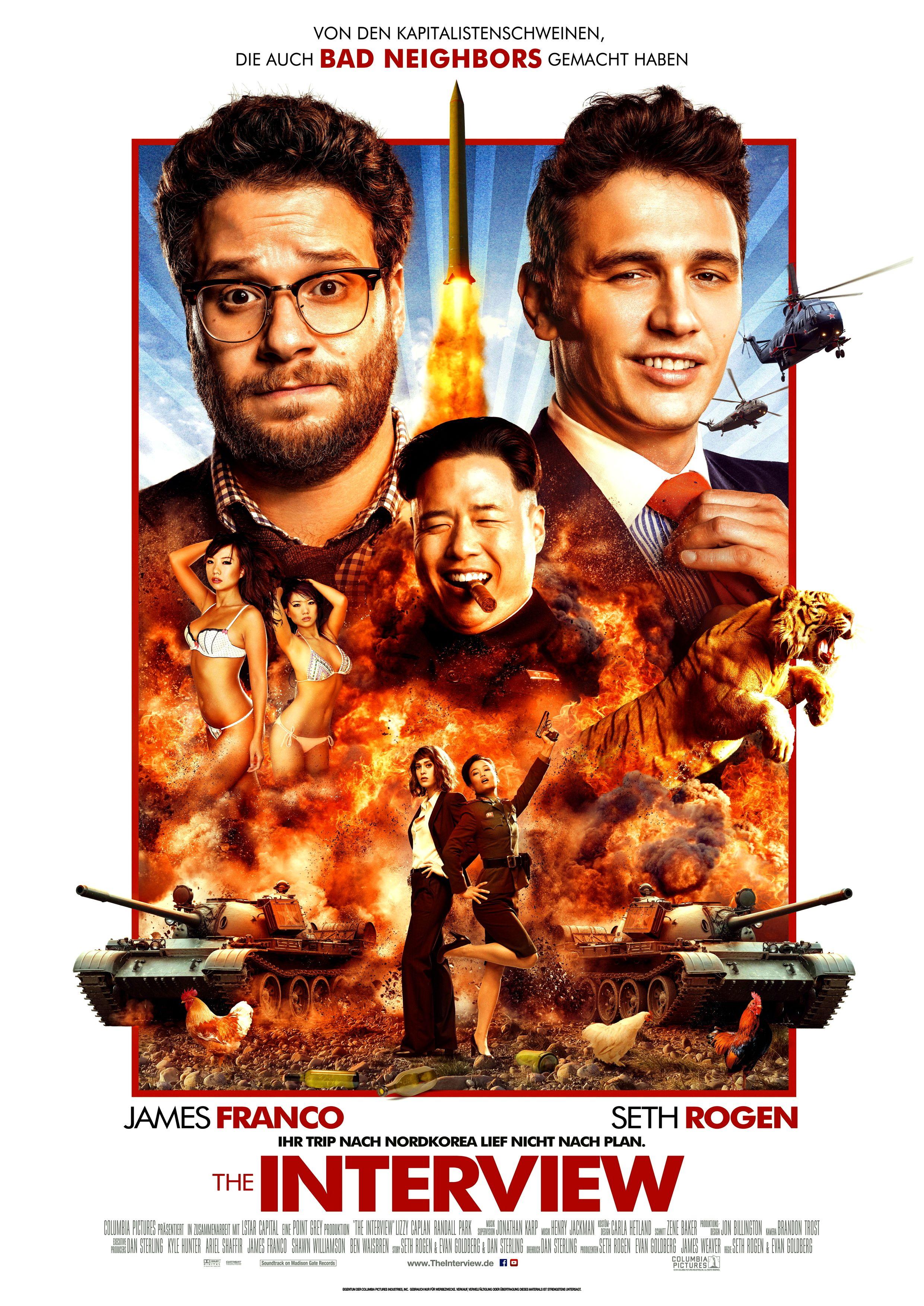 Pin Von Norberto Geronimo Auf Satire Movie Poster The Interview Filme Kostenlos Ganze Filme