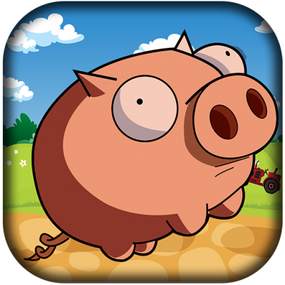 Pig Run: Pig Run is a fun and addictive action game controlled by your phone
