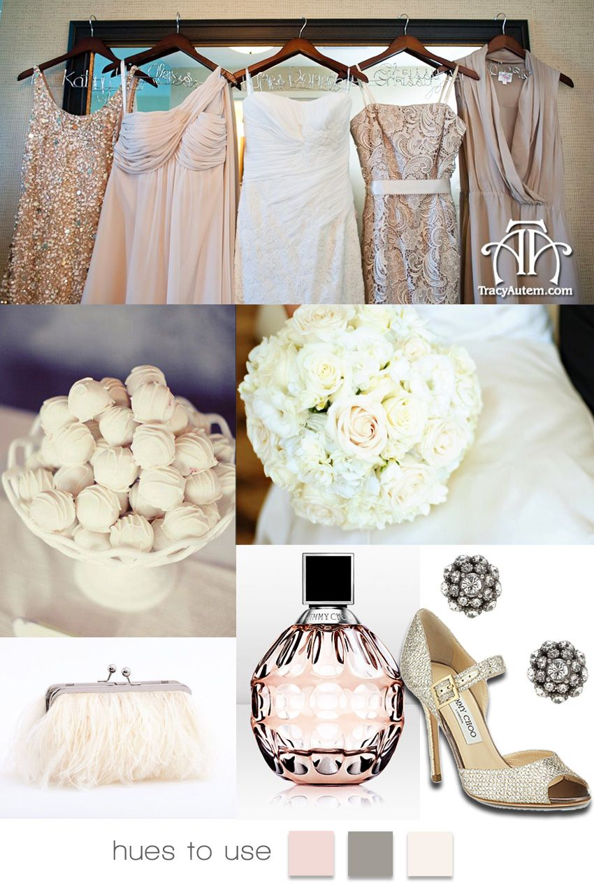 Pretty in Platinum and Pink | Brides of North Texas | Wedding ...