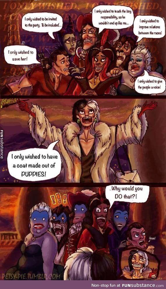 The evilest of villains - FunSubstance