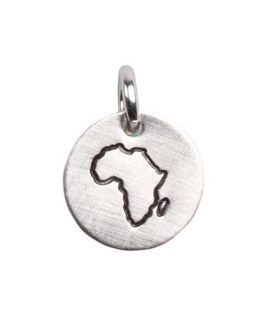 My heart goes out to Africa. I love this charm.
