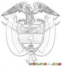 Resultado De Imagen Para Escudo De Colombia Para Colorear Escudo Derechos De Los Ninos Fotografia Poses