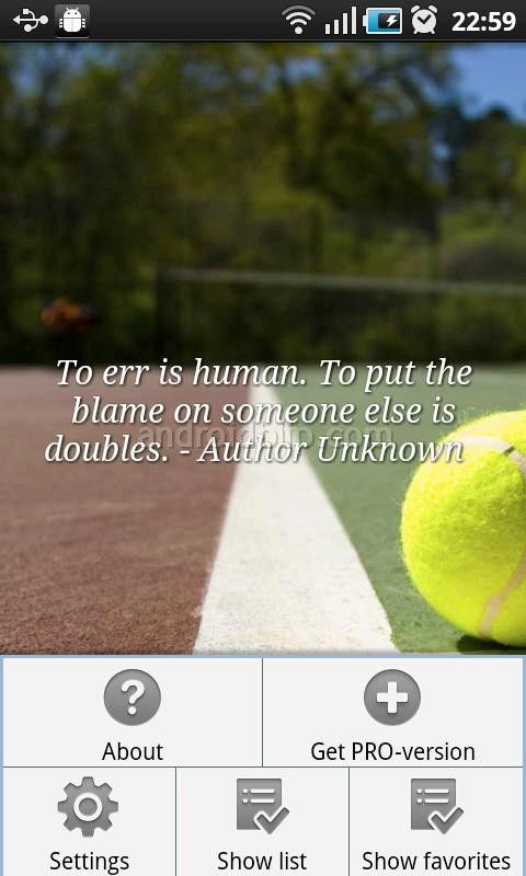 Tennis Quotes. Oh how I hated doubles with the wrong partner ...