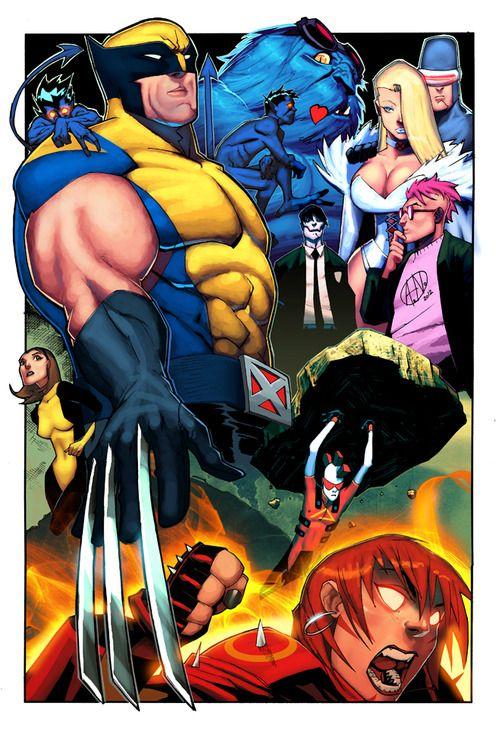 Wolverine And The X Men X Men Comic Books Art Marvel Comics