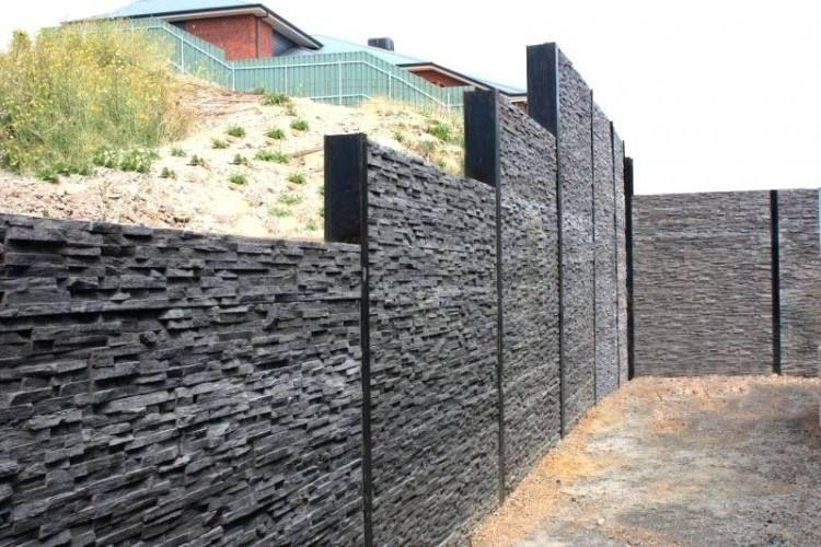 Retaining Wall Decorating Ideas Concrete Sleeper Retaining Walls Concrete Retaining Walls Backyard Retaining Walls