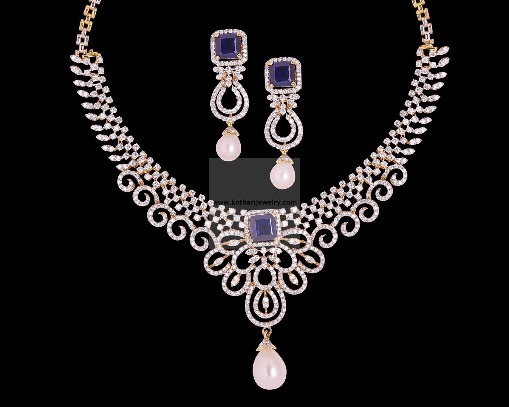 Diamond necklace 18kt indian diamond haram 18kt indian diamond diamond necklace 18kt indian diamond haram 18kt indian diamond aloadofball Choice Image