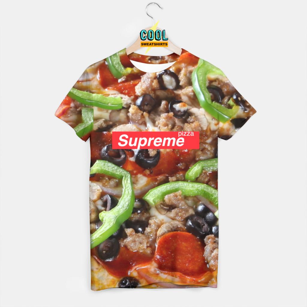 Beloved Shirts Supreme Pizza Crop Top