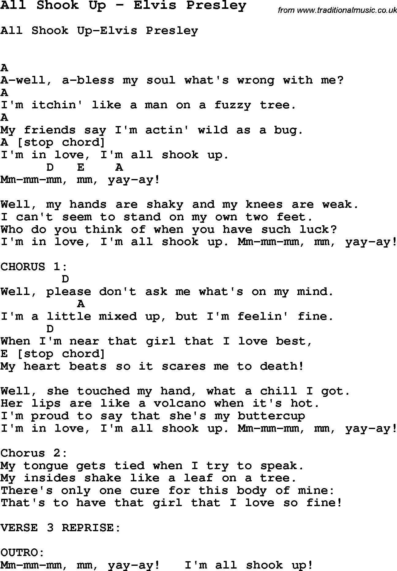 All Shook Up Elvis Presley Png 1296 1866 Ukulele Tabs Songs Ukelele Songs Easy Ukulele Songs