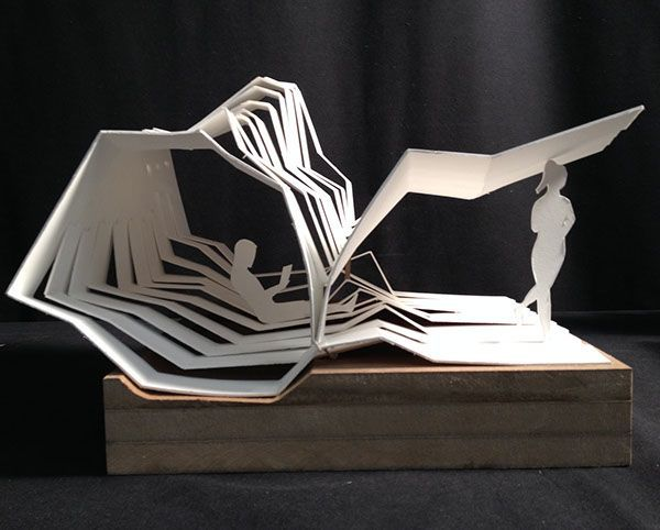 WAVE CAVE Origami origami arquitectura