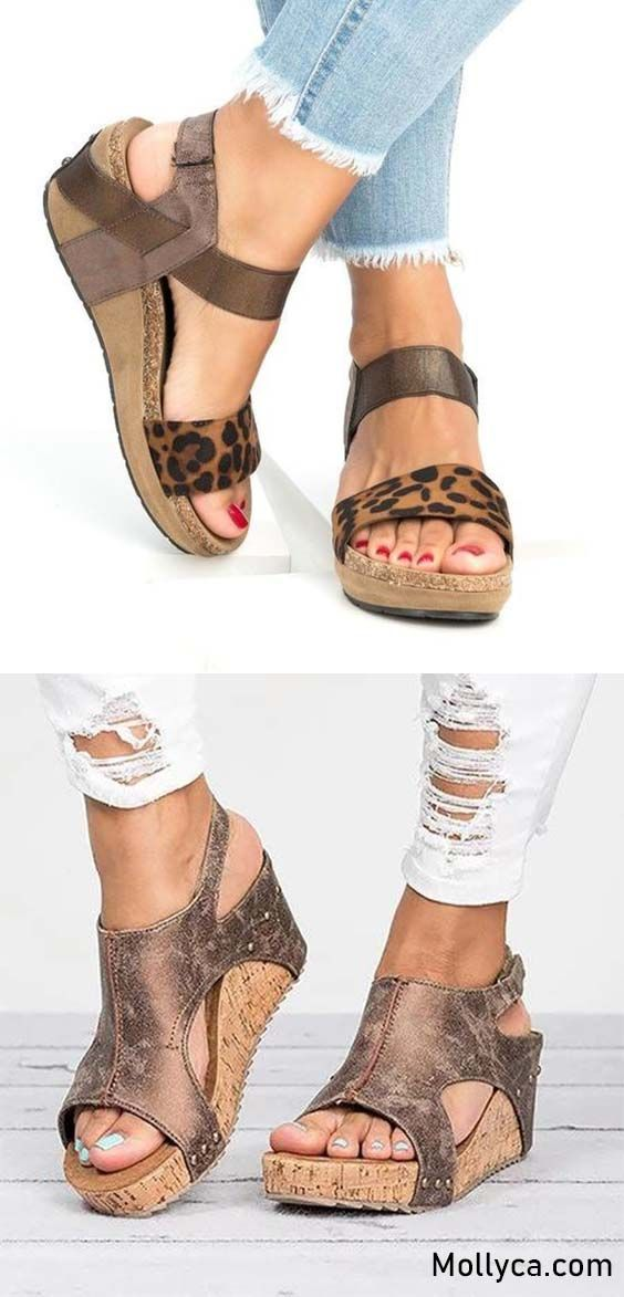 8be0f343fed3 Buy 2 Got 5% OFF Code  mollyca Med Wedge Comfortable Platform Women Sandals  Collection