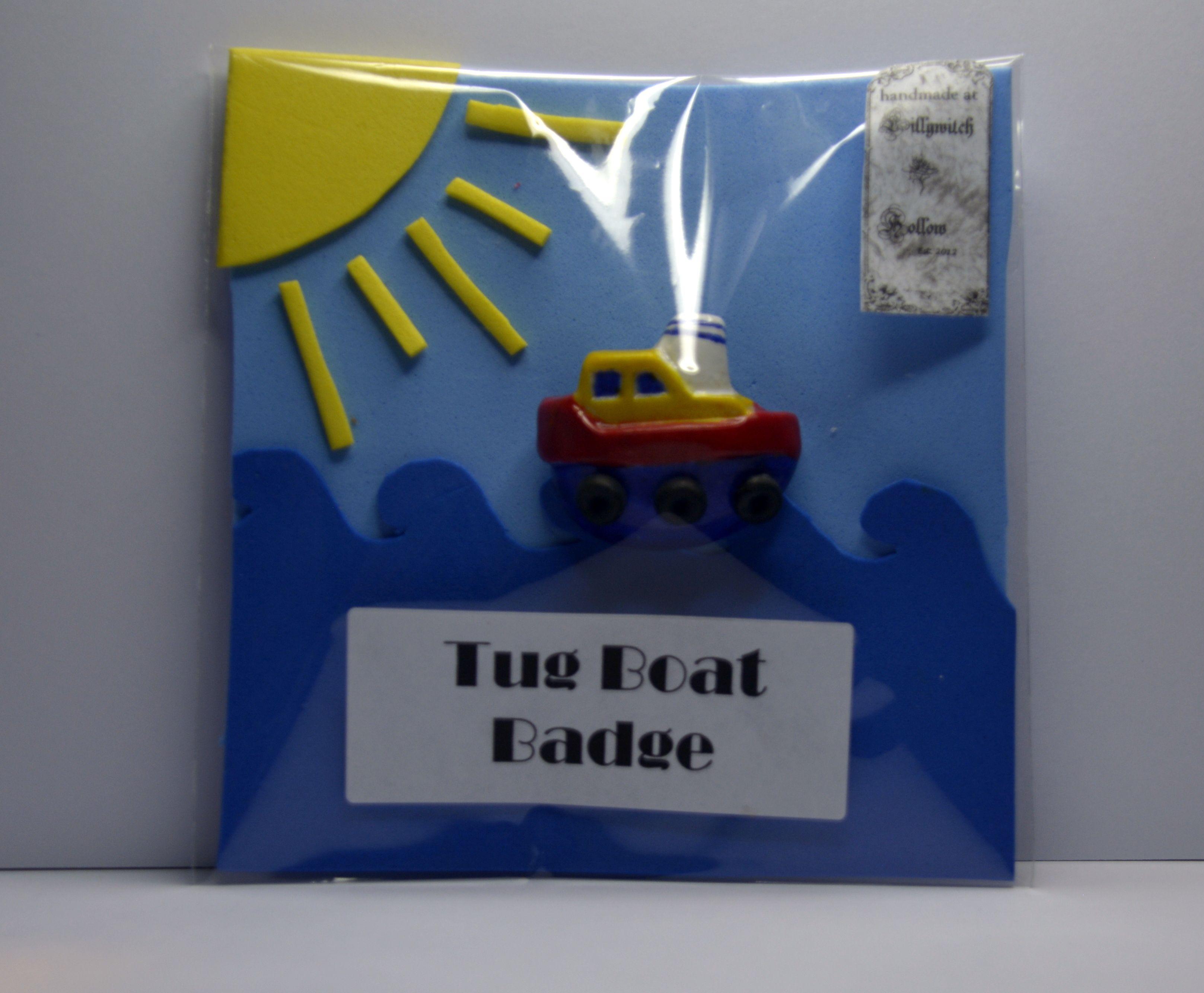 Tug Boat Badge https://www.etsy.com/au/shop/LillywitchHollow