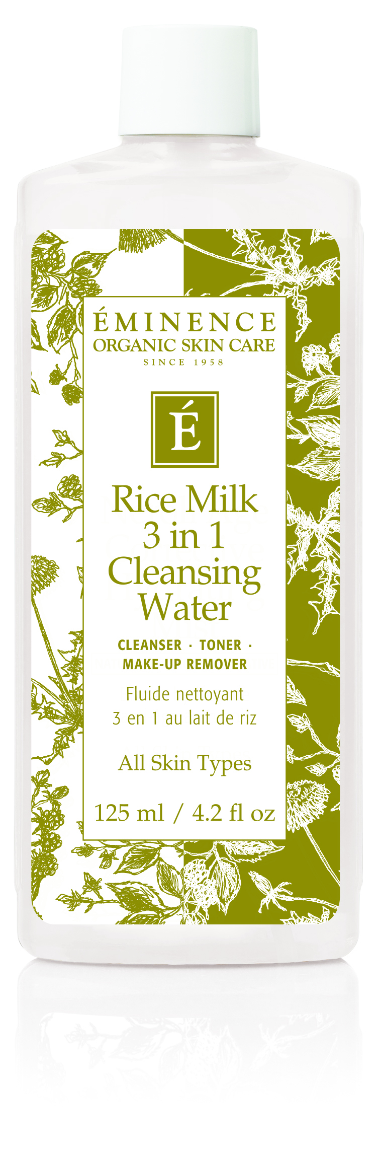Balancing Rice Milk Cleanser Makeup Remover & Toner in 1