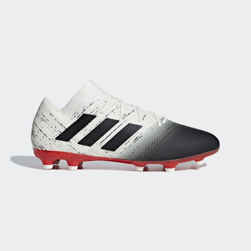 ae3cdbfe24e0c adidas Nemeziz 18.2 Firm Ground Boots - White
