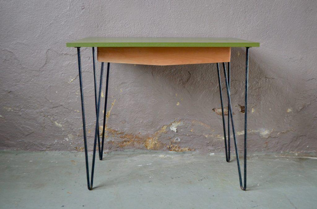 Petit Bureau Jeannot En 2020 Meuble Vintage Mobilier De Salon Idees Pour La Maison