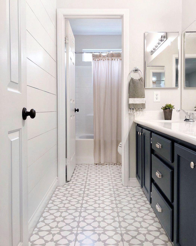 Amazing Different Bathroom Patterned Floor Tile Ideas Dream