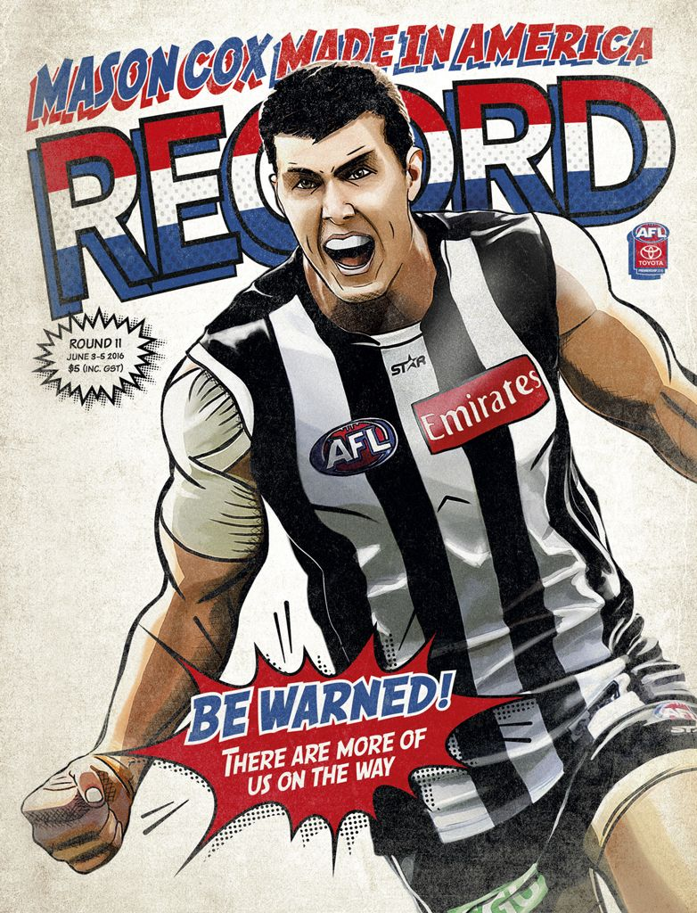 Afl record round 11 cover australian football cover