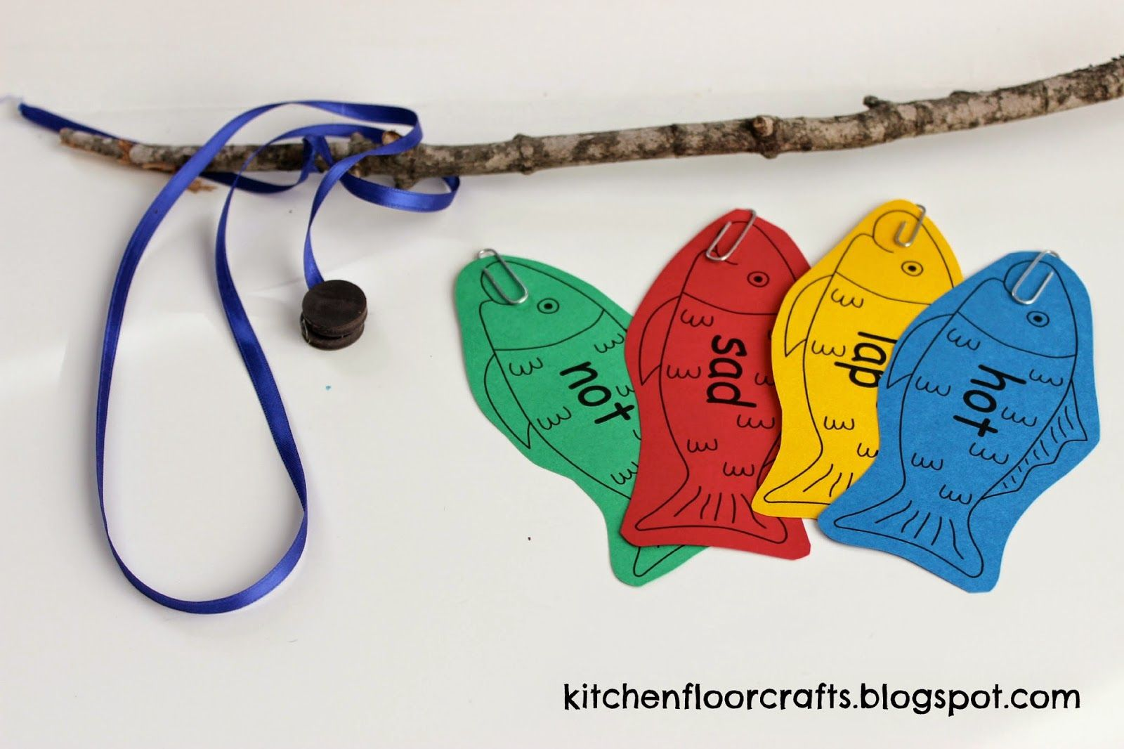 Kitchen Floor Crafts Rhyming Fish Play with Dr. Seuss