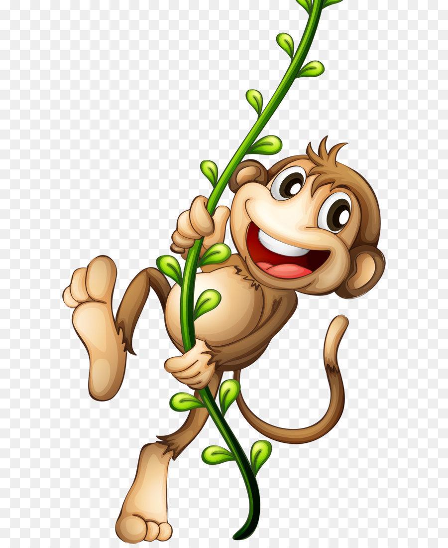 Cartoon Monkey Clip Art Cartoon Monkey Png Download 2343 3936 Free Transparent Cartoon Png Download Monkey Pictures Cartoon Cartoon Monkey