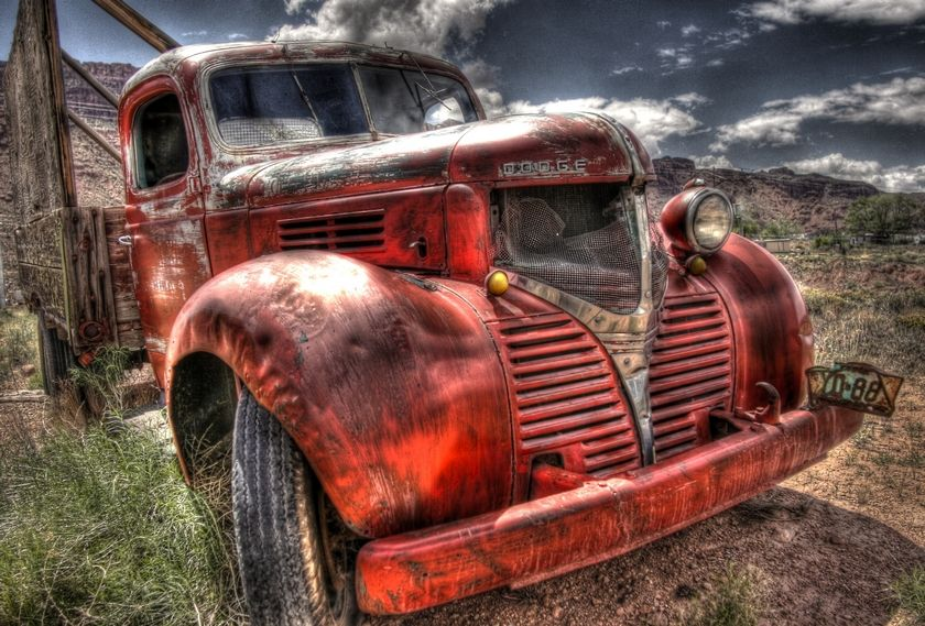 Dodge Bootlegger Truck ~ HDR Photography by Cheyenne Rouse