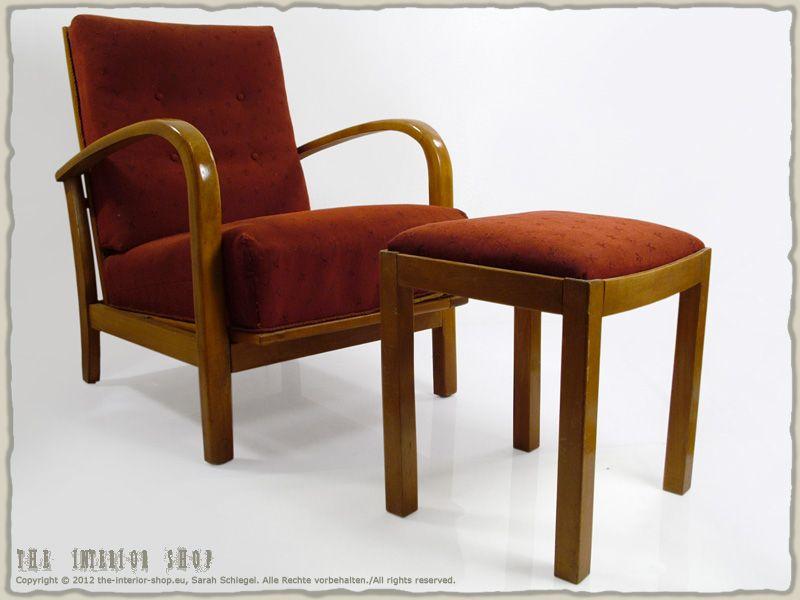 Clubsessel Cocktailsessel Hocker Set 11 Teilig Bauhaus Art Deco Clubsessel Designklassiker Design