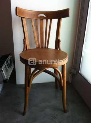 Foto de silla de madera 25e segunda mano pinterest for Silla gemelar segunda mano