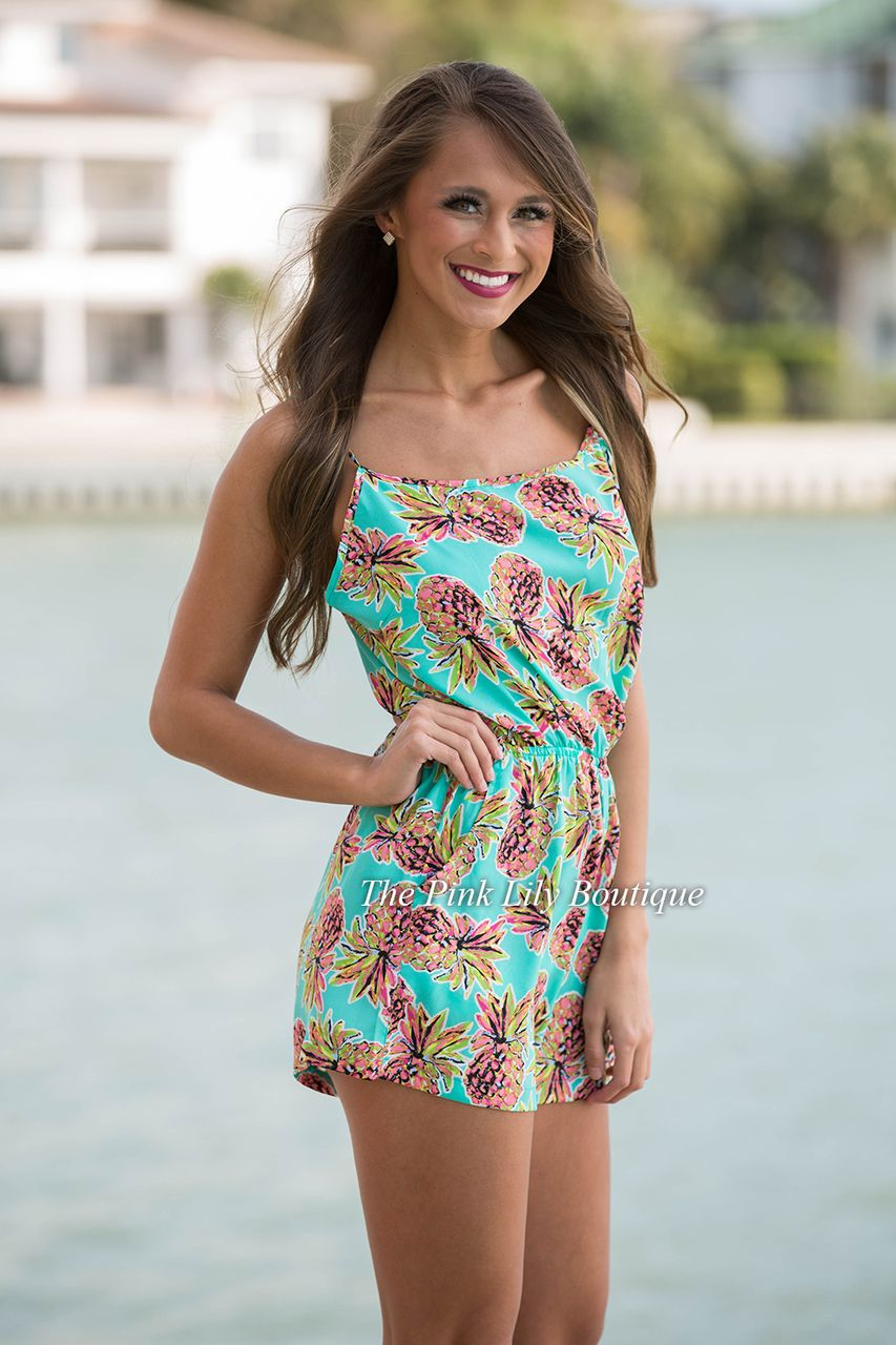 fd7613556 We just adore this pineapple print for spring and summer! The color ...