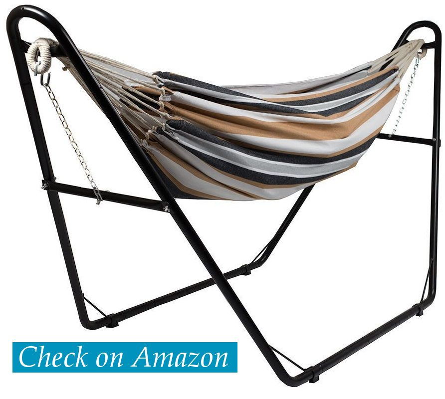 Sunnydaze Universal Multi-Use Steel Hammock with Stand