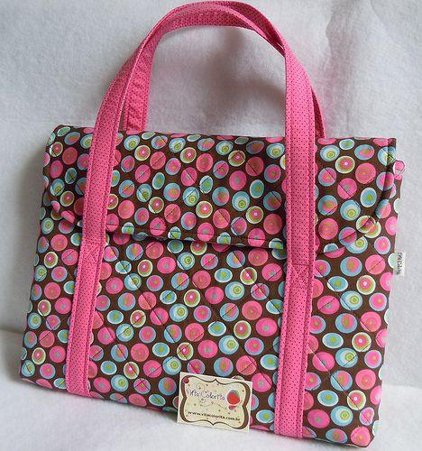 Bolsa De Tecido Pinterest : Molde de bolsa tecido para notebook pesquisa google