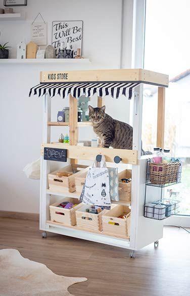DIY Kaufladen / Marktstand selber bauen - die einfache Anleitung!