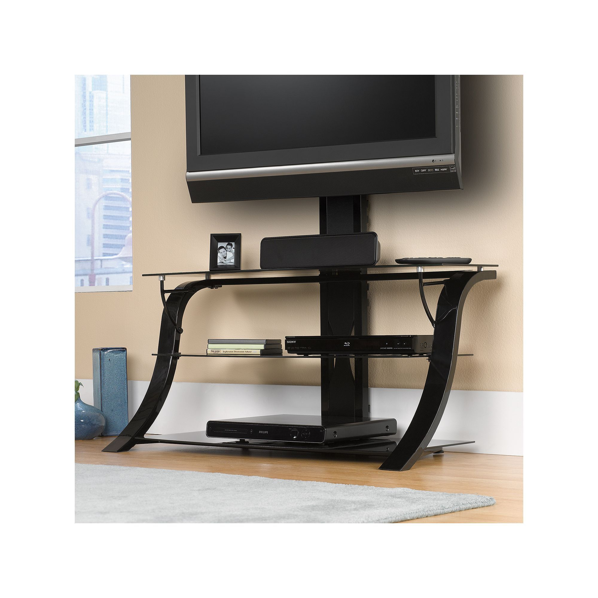 Sauder Modern Tv Stand Products Tv Stand With Mount Home Home
