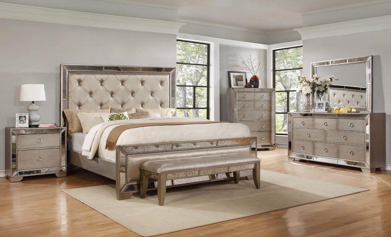 House of Hampton Chesmore Panel Customizable Bedroom Set & Reviews