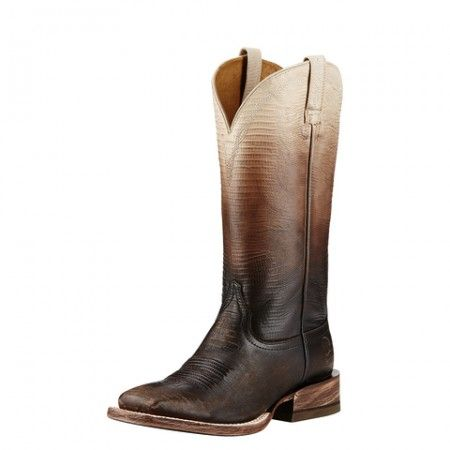 Ariat Women S Good Times Antique Brown Punchy Square Toe Western Boots Cowgirl Boots Square Toe Western Boots Boot Shoes Women