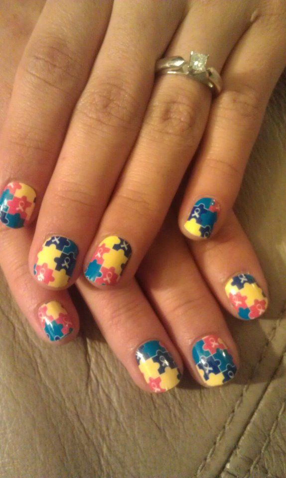 Jamberry nails will donate 2 dollars for every purchase of the jamberry nails will donate 2 dollars for every purchase of the autism nail design to find out more about autism go to httpautism society or prinsesfo Images